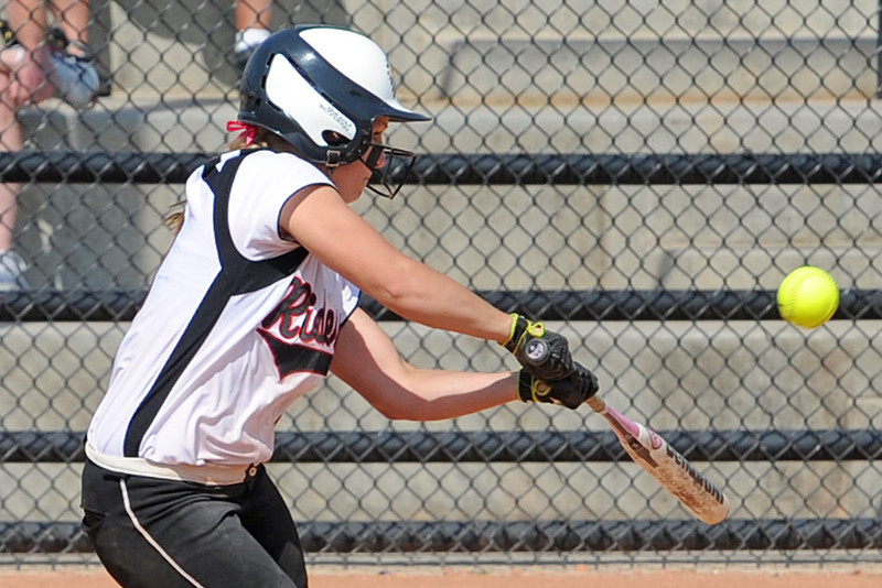 Roosevelt High School's Madie Kilcrease during a game against Berthoud on Saturday, Sept. 22, 2012 at Nelson Farm Park in Johnstown.