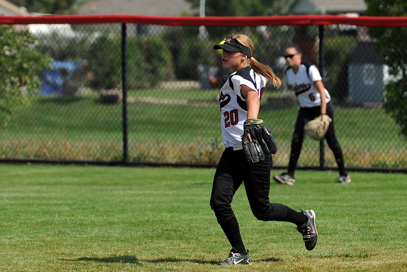 Roosevelt High School against Berthoud on Saturday, Sept. 22, 2012 at Nelson Farm Park in Johnstown.