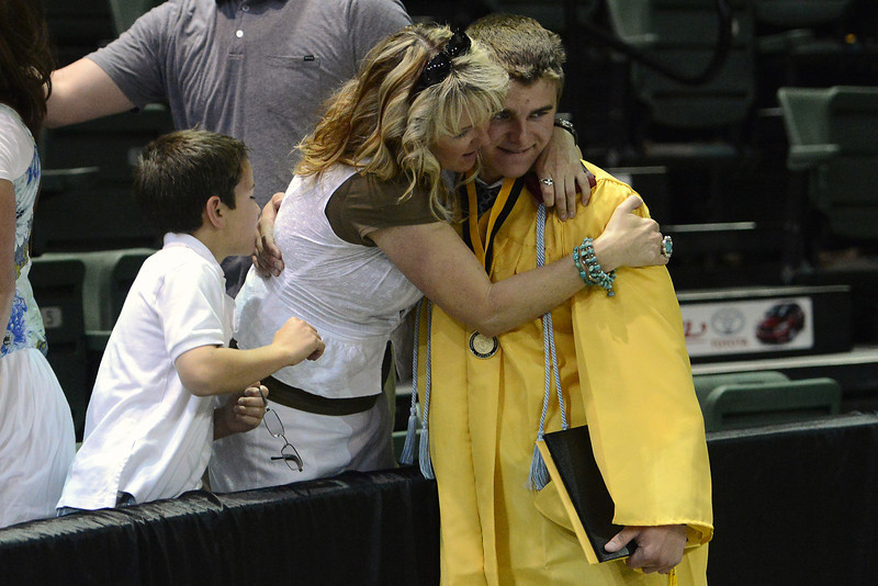 Thompson Valley High School's graduation ceremony on Saturday, May 25, 2013 at the Budweiser Events Center.