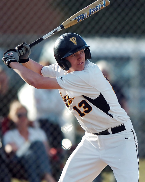 Thompson Valley High School sophomore Karsen Buschjost during a game against Northridge on Tuesday, March 30, 2010 at Constanz Field. The Eagles lost, 19-11.