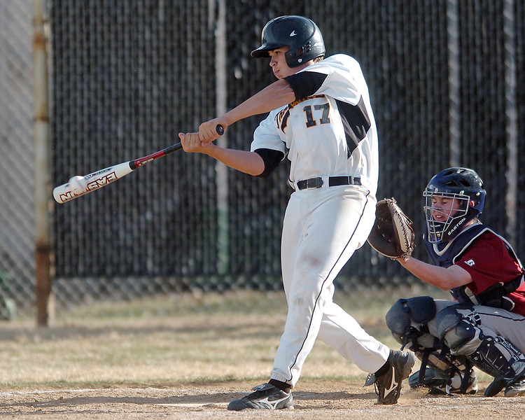 Thompson Valley High School's Josh Karling at the plate during a game against Northridge on Tuesday, March 30, 2010 at Constanz Field. The Eagles lost, 19-11.