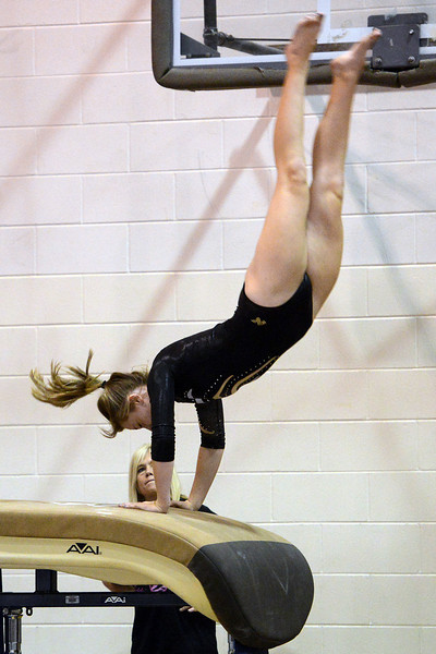 Thompson Valley High School during a dual meet against Loveland on Tuesday, Oct. 2, 2012 at LHS.