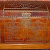 Henry Clinton's trunk, which contained his papers, as seen on the website of the Library