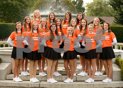 2014-15 Tiger Drill Team Picture Day