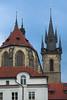 Vista trasera de la iglesia
