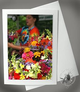 Tie Dye Flowers FLW036