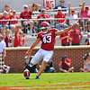 NCAA FOOTBALL September 2  2017 University of Oklahoma  vs University of Texas at El Paso<br /> <br /> Oklahoma Sooners place kicker Austin Seibert (43) in the game between the Oklahoma Sooners and the UTEP Miners at Gaylord Memorial Stadium Owen Field in Norman OK<br /> <br /> <br /> June Frantz Hunt/Transcript