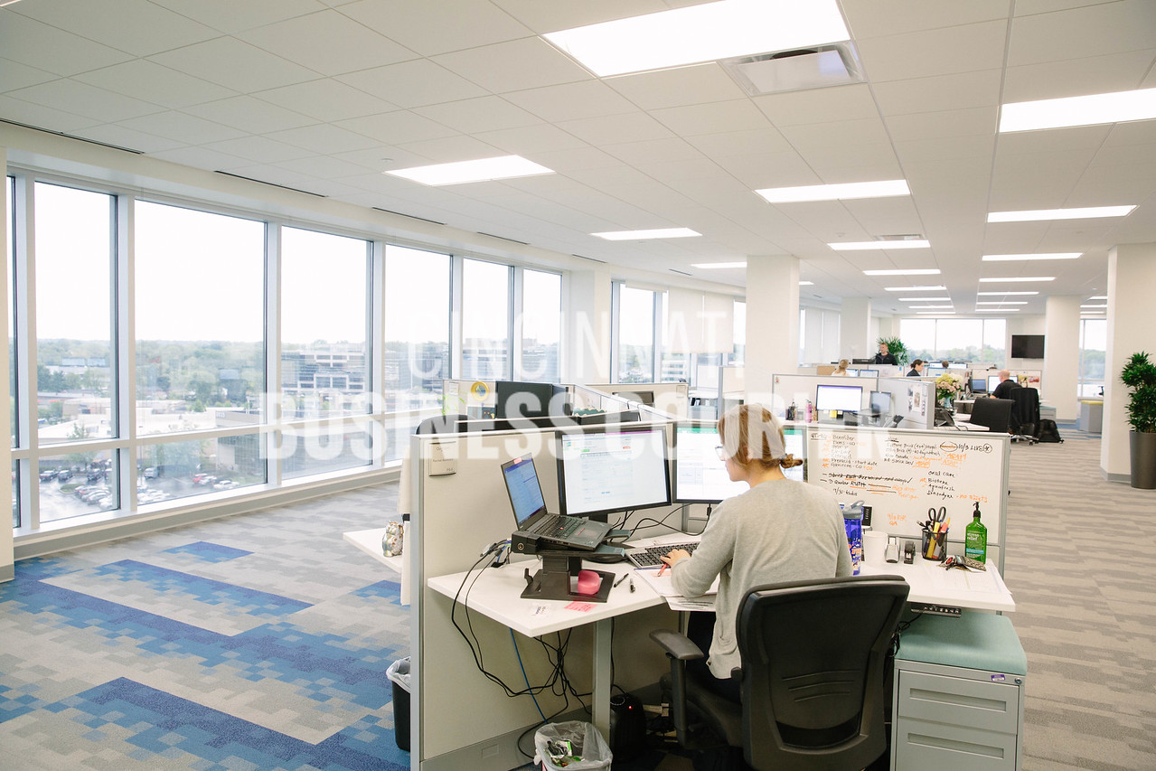 The Operations Team at Quotient in the new Kenwood Collection building on Friday September 30 2016 in Cincinnati, OH. (Josh Anderson for Cincinnati Business Courier)