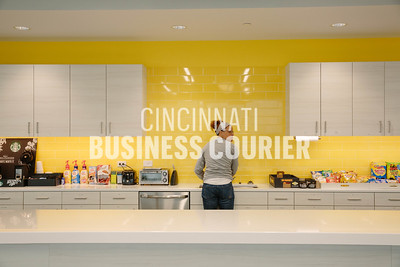 The cafe at Quotient in the new Kenwood Collection building on Friday September 30 2016 in Cincinnati, OH. (Josh Anderson for Cincinnati Business Courier)