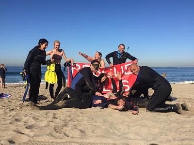 Rescue Diver Course Action