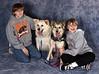 Cubby and Sparkle with their boys
