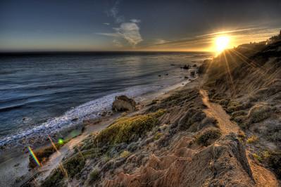 Sunset @ El Matador Beach! Scenic HDR Landscapes of Malibu Shot with the Nikon D3X