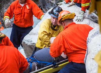 Big Falls Trail, Inmate Crew Assist (5/2/15)
