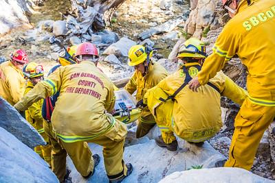 Rescue Big Falls, Forest Falls - 06/04/2016