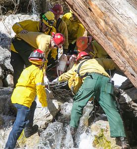 Big Falls Rescue. 03/28/17