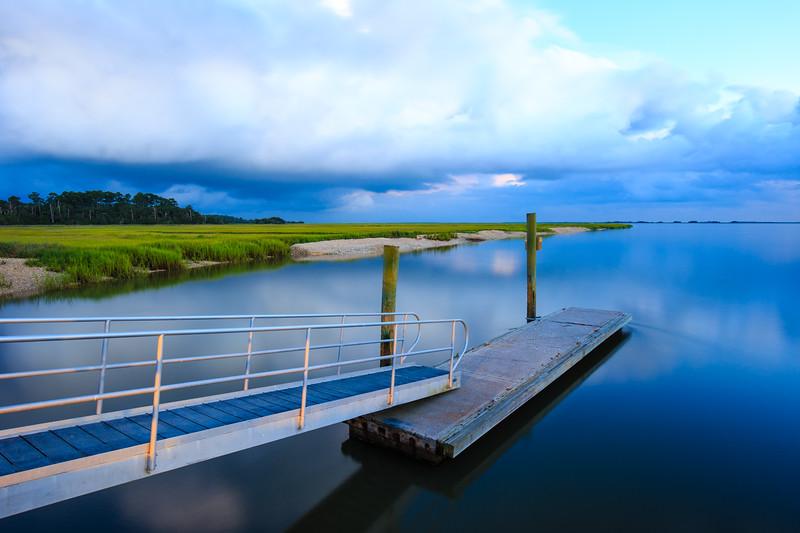Marsh Landing Storm Light