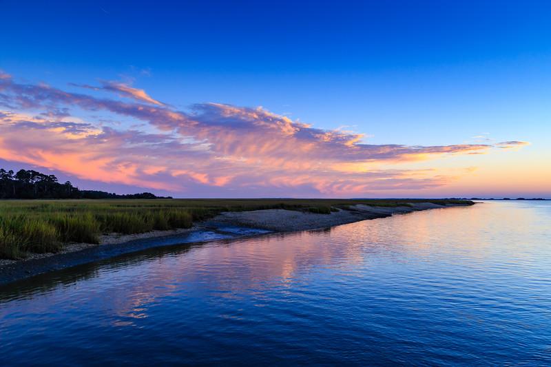 Evening marsh, Sapelo Island