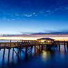 Marsh Landing Pier at Night