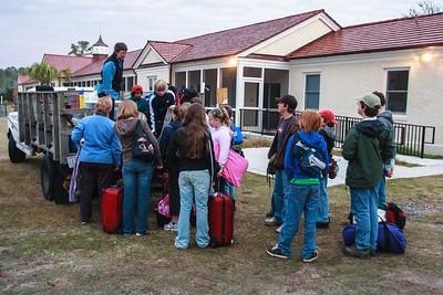 Departing Sapelo