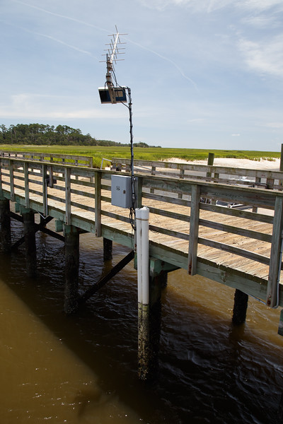 SINERR Lower Duplin sonde at Marsh Landing