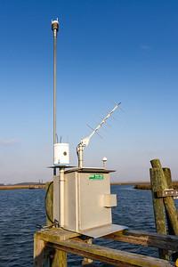 Hudson Creek USGS weather station and sonde