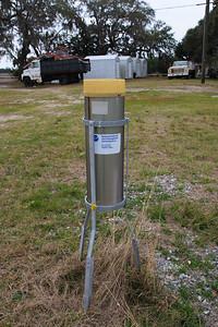 NOAA rain gauge