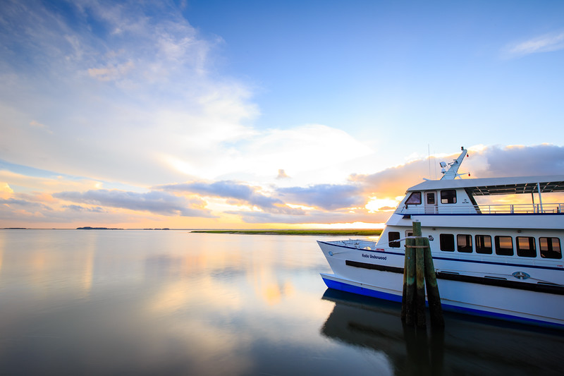 Sapelo Ferry Sunset