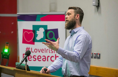 22/02/2018. Research Sparks in Waterford Institute of Technology. Pictured is Dr Larry Fitzhenry. Picture: Patrick Browne
