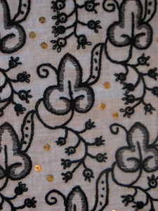 Another view of the embroidery.