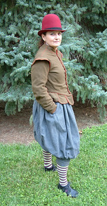 16th Century doublet and trunknose.  I love those pockets!