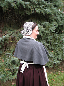 Backview of the previous outfit, and the coif.