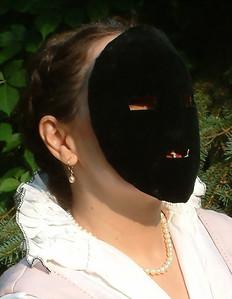16th Century visage mask.