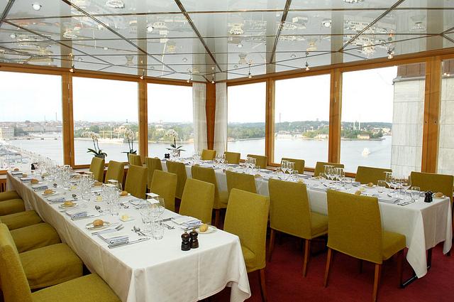 Gondolan Restaurant, laureate dinner.  Photo by the Stockholm International Water Institute under the Creative Commons license.