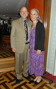 Steve and Susan Carpenter, laureate dinner.  Photo by the Stockholm International Water Institute under the Creative Commons license.