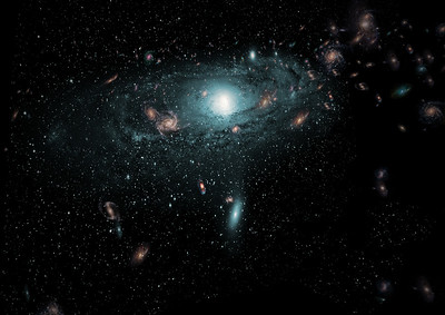 Hidden Galaxies artist impression