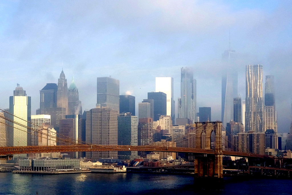 """New York Morning. Featured in """"American Vision"""" Us of America Magazine, Winter 2018."""