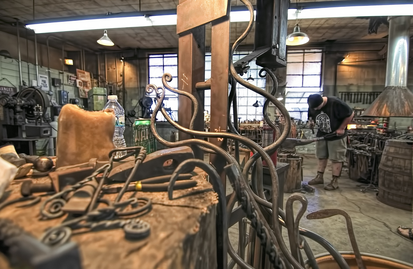 2016 Doors Open Milwaukee <br /> Milwaukee Blacksmith