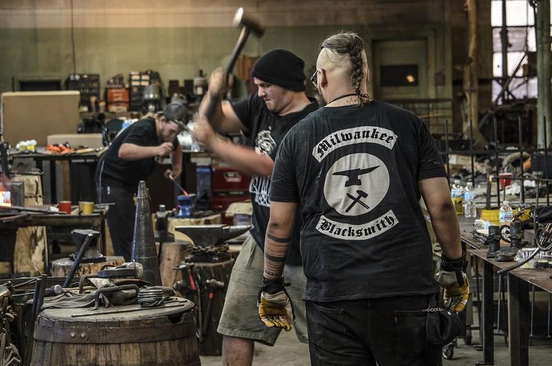 2016 Doors Open Milwaukee <br /> Milwaukee Blacksmith