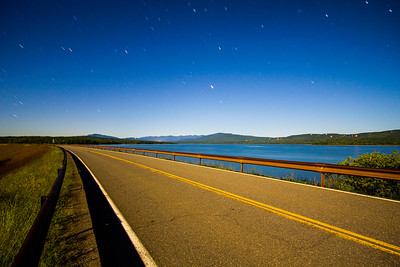 Dike Road - Ashokan Reservoir Night