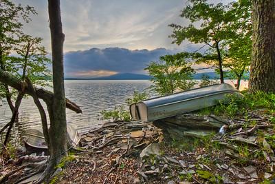 Recreation Area at Ashokan Reservoir
