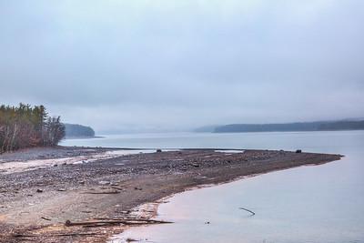 Foggy Ashokan Reservoir
