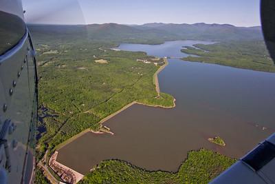 Aerial Ashokan Reservoir