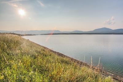 Ashokan Reservoir, Ulster County, New York, USA