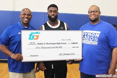 """Reshad """"G5"""" Jones Charity Basketball Game 5.14.16"""