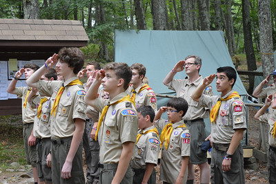 Resica Falls Scout Reservation 2013