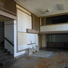 Here you can see the second floor dining room that overlooks this room.