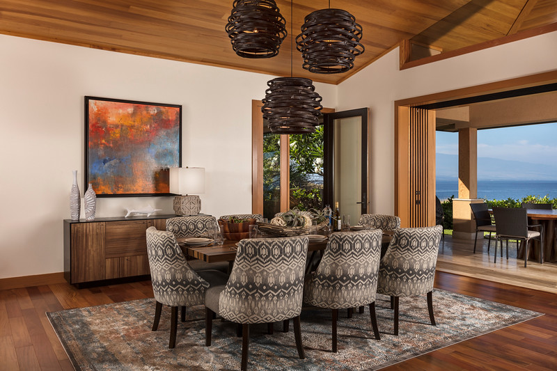 Dining Room; Kohala Coast, Hawaii