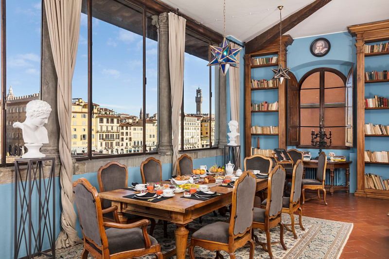 Dining Room, Foresteria Florentine; Florence, Italy