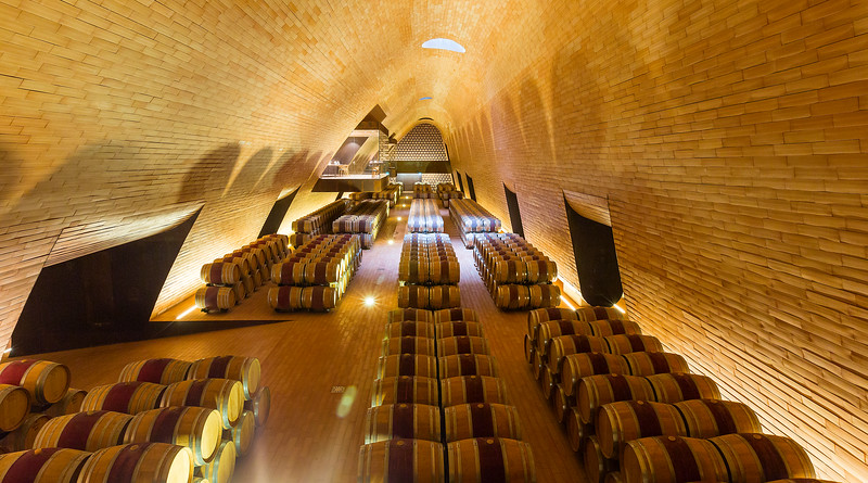 Wine Cellars, Antinori Winery; Tuscany, Italy