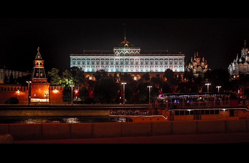 The view from the Residence - the Kremlin across  the river